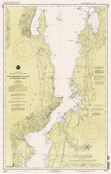 Lake Champlain, Sheet 3 - 1991 Nautical Chart