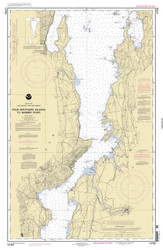 Lake Champlain, Sheet 3 - 2005 Nautical Chart