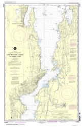 Lake Champlain, Sheet 3 - 2013 Nautical Chart