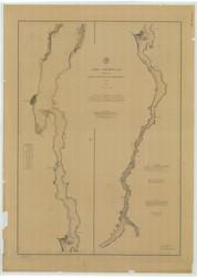 Lake Champlain, Sheet 4 - 1883 Nautical Chart