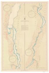 Lake Champlain, Sheet 4 - 1941 Nautical Chart