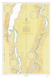 Lake Champlain, Sheet 4 - 1947 Nautical Chart