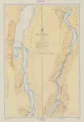 Lake Champlain, Sheet 4 - 1962a Nautical Chart