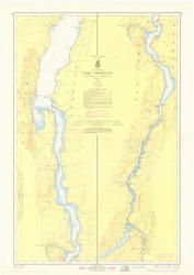 Lake Champlain, Sheet 4 - 1968b Nautical Chart