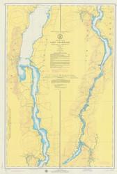 Lake Champlain, Sheet 4 - 1974 Nautical Chart