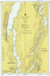 Lake Champlain, Sheet 4 - 1977 Nautical Chart