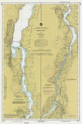 Lake Champlain, Sheet 4 - 1980 Nautical Chart