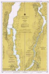 Lake Champlain, Sheet 4 - 1984 Nautical Chart