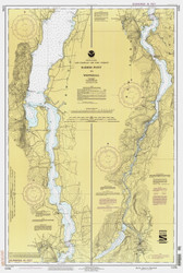 Lake Champlain, Sheet 4 - 1992 Nautical Chart