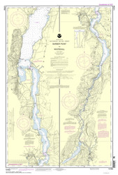 Lake Champlain, Sheet 4 - 2013 Nautical Chart