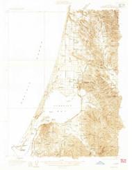 Eureka, California 1933 (1933) USGS Old Topo Map 15x15 Quad