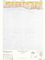 Gaviota, California 1947 (1947) USGS Old Topo Map 15x15 Quad