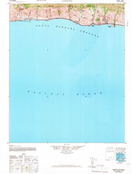 Gaviota, California 1966 (1966) USGS Old Topo Map 15x15 Quad
