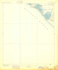 La Bolsas, California 1896 (1896) USGS Old Topo Map 15x15 Quad
