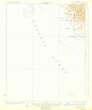 Piedras Blancas, California 1927 (1927) USGS Old Topo Map 15x15 Quad