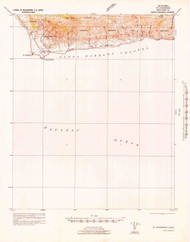 Point Conception, California 1942 (1942) USGS Old Topo Map 15x15 Quad