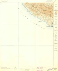 Port Harford, California 1897 (1897) USGS Old Topo Map 15x15 Quad