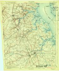 Smyrna, Delaware 1931 (1931a) USGS Old Topo Map 15x15 Quad