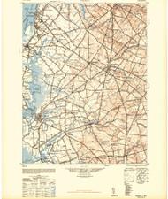 Salem, New Jersey 1948 (1948a) USGS Old Topo Map 15x15 Quad