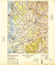 Salem, New Jersey 1948 (1948b) USGS Old Topo Map 15x15 Quad