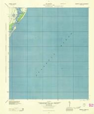 Cabretta Island, Georgia 1944 (1944) USGS Old Topo Map 15x15 Quad