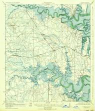 St Marys, Florida 1919 (1936) USGS Old Topo Map 15x15 Quad