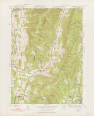 Hancock (copy A), MA 1944-1956 Original USGS Old Topo Map 7x7 Quad 31680 - MA-28A