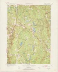 Goshen, MA 1955-1956 Original USGS Old Topo Map 7x7 Quad 31680 - MA-54