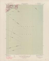 Marblehead (South), MA 1945-1948 Original USGS Old Topo Map 7x7 Quad 31680 - MA-70