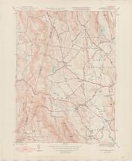Egremont, MA 1946-1948 Original USGS Old Topo Map 7x7 Quad 31680 - MA-93