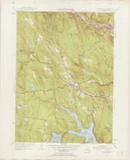 Blandford, MA 1943-1955 Original USGS Old Topo Map 7x7 Quad 31680 - MA-97