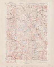 South Sandisfield, MA 1946-1948 Original USGS Old Topo Map 7x7 Quad 31680 - MA-118
