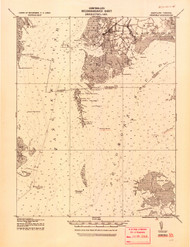 Crisfield, Maryland 1920 (1920) USGS Old Topo Map 15x15 Quad