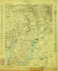 Elkton, Maryland 1898 (1898) USGS Old Topo Map 15x15 Quad