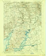Elkton, Maryland 1900 (1926) USGS Old Topo Map 15x15 Quad