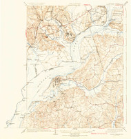 Indian Hill, Maryland 1925 (1925b) USGS Old Topo Map 15x15 Quad