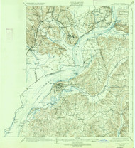 Indian Hill, Maryland 1925 (1934) USGS Old Topo Map 15x15 Quad