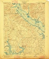 Leonardtown, Maryland 1901 (1901) USGS Old Topo Map 15x15 Quad