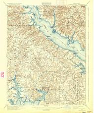 Leonardtown, Maryland 1901 () USGS Old Topo Map 15x15 Quad
