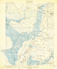 Nanitcoke, Maryland 1903 (1903b) USGS Old Topo Map 15x15 Quad