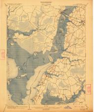 Nanitcoke, Maryland 1903 (1922) USGS Old Topo Map 15x15 Quad
