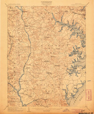 Owensville, Maryland 1905 (1905) USGS Old Topo Map 15x15 Quad
