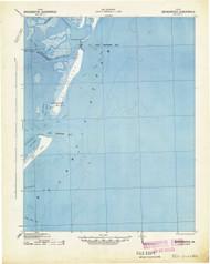 Broadwater, Virginia 1941 (1941) USGS Old Topo Map 15x15 Quad