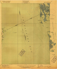 Ewell, Virginia 1917 (1917) USGS Old Topo Map 15x15 Quad