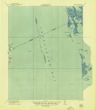 Ewell, Virginia 1917 (1944) USGS Old Topo Map 15x15 Quad