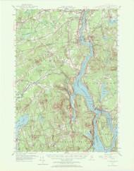 Bucksport, Maine 1955 (1972 a) USGS Old Topo Map 15x15 Quad