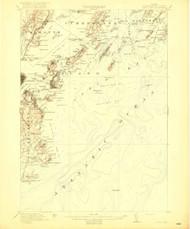Casco Bay, Maine 1916 (1916 b) USGS Old Topo Map 15x15 Quad