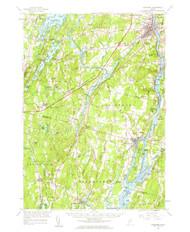 Gardiner, Maine 1957 (1964) USGS Old Topo Map 15x15 Quad