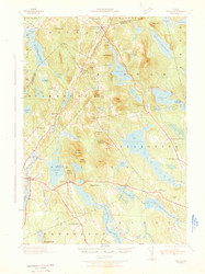 Orland, Maine 1942 (1942) USGS Old Topo Map 15x15 Quad