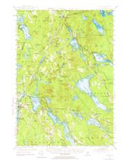Orland, Maine 1955 (1964) USGS Old Topo Map 15x15 Quad